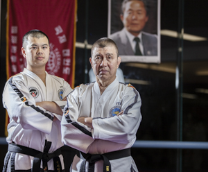 Lai Taekwon-Do Chief Instructor Grand Master Robert Lai & Instructor Master Jason Lai
